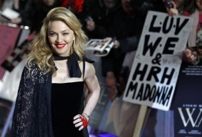 Madonna at the UK premiere of WE at the Odeon Kensington in London - 11 January 2012 - Update 2 (1)