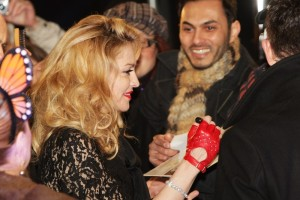 Madonna at the UK premiere of WE at the Odeon Kensington in London - 11 January 2012 - Update 2 (34)