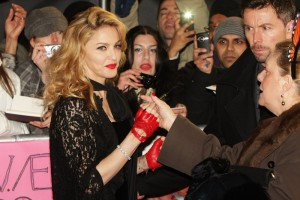Madonna at the UK premiere of WE at the Odeon Kensington in London - 11 January 2012 - Update 2 (35)