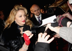 Madonna at the UK premiere of WE at the Odeon Kensington in London - 11 January 2012 - Update 2 (46)