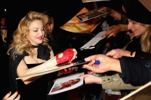 Madonna at the UK premiere of WE at the Odeon Kensington in London - 11 January 2012 - Update 2 (47)
