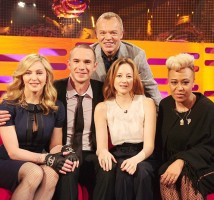 Madonna at the taping of the Graham Norton Show (4)