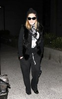 Madonna at LAX airport - January 12th 2012 - Update 02 (5)