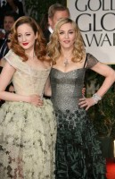 Madonna at the Golden Globes, Red Carpet - 15 January 2012 - Update 01 (94)