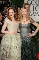Madonna at the Golden Globes, Red Carpet - 15 January 2012 - Update 01 (98)