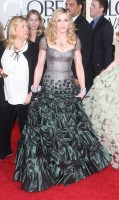 Madonna at the Golden Globes, Red Carpet - 15 January 2012 - Update 01 (5)
