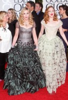Madonna at the Golden Globes, Red Carpet - 15 January 2012 - Update 01 (6)