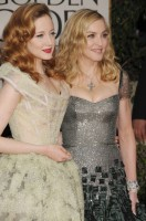 Madonna at the Golden Globes, Red Carpet - 15 January 2012 - Update 01 (33)