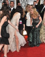 Madonna at the Golden Globes, Red Carpet - 15 January 2012 - Update 01 (48)