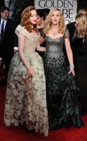 Madonna at the Golden Globes, Red Carpet - 15 January 2012 - Update 01 (64)