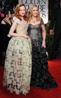 Madonna at the Golden Globes, Red Carpet - 15 January 2012 - Update 01 (66)