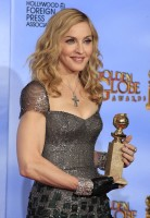 Madonna at the Golden Globes, Press Room - 15 January 2012 (2)