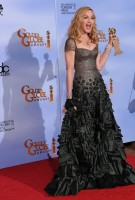 Madonna at the Golden Globes, Press Room - 15 January 2012 (5)