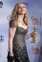 Madonna at the Golden Globes Press Room, 15 January 2012 - Update 01 (1)