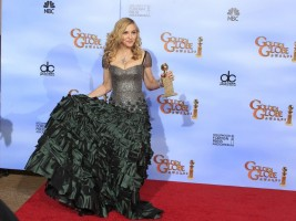 Madonna at the Golden Globes Press Room, 15 January 2012 - Update 01 (2)