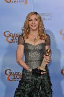 Madonna at the Golden Globes Press Room, 15 January 2012 - Update 01 (9)