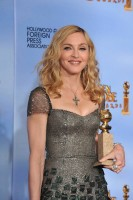 Madonna at the Golden Globes Press Room, 15 January 2012 - Update 01 (16)