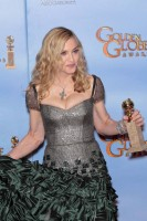 Madonna at the Golden Globes Press Room, 15 January 2012 - Update 01 (50)