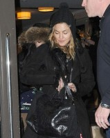 Madonna out and about in New York - 20 21 January 2012 (1)