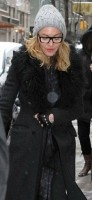 Madonna out and about in New York - 20 21 January 2012 (2)