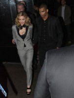 Madonna and Brahim Zaibat leaving the Boom Boom Room, New York - 24 January 2012 (1)