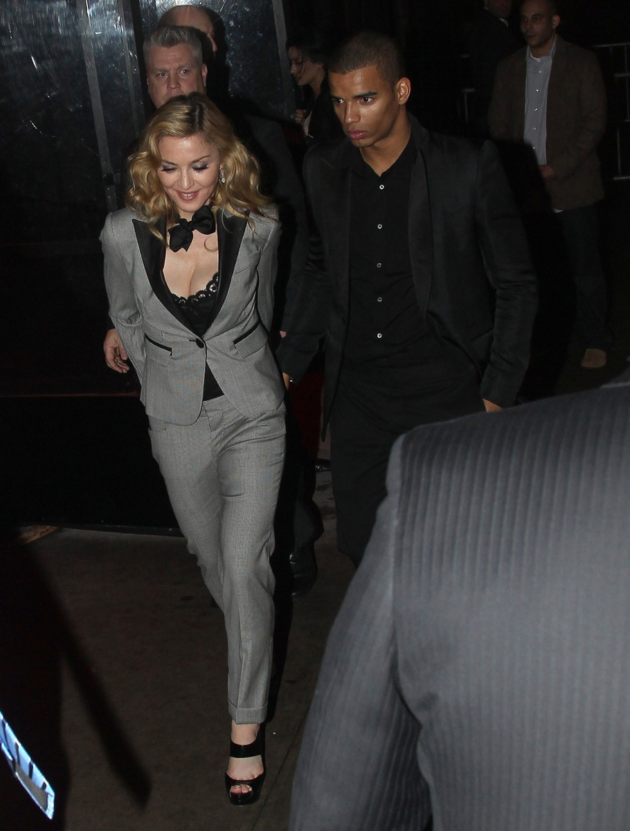 Madonna At The Boom Boom Room In New York 24 January 2012