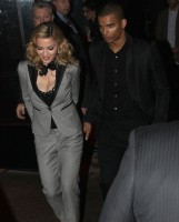 Madonna and Brahim Zaibat leaving the Boom Boom Room, New York - 24 January 2012 (2)