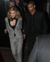 Madonna and Brahim Zaibat leaving the Boom Boom Room, New York - 24 January 2012 (2)