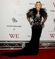 Madonna at the WE premiere at the Ziegfeld Theater, New York - 23 January 2012 (23)