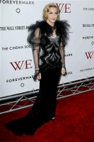 Madonna at the WE premiere at the Ziegfeld Theater, New York - 23 January 2012 (27)