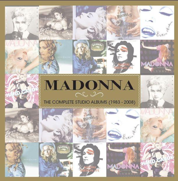 New Madonna Box Set The Complete Studio Albums 1983 2008