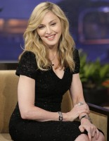Madonna at the Tonight Show with Jay Leno - 30 January 2012 (2)