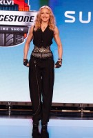 Madonna at the Super Bowl press conference - 2 February 2012 (1)