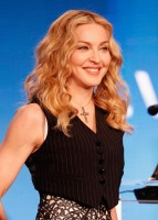 Madonna at the Super Bowl press conference - 2 February 2012 (6)