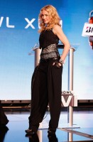 Madonna at the Super Bowl press conference - 2 February 2012 (7)