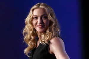 Madonna at the Super Bowl press conference - 2 February 2012 (8)
