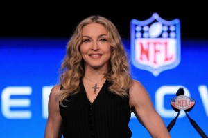 Madonna at the Super Bowl press conference - 2 February 2012 - Update 01 (6)