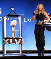 Madonna at the Super Bowl press conference - 2 February 2012 - Update 01 (22)