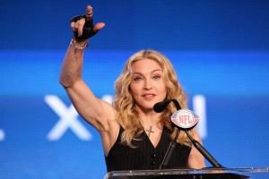 Madonna at the Super Bowl press conference - 2 February 2012 - Update 02 (6)