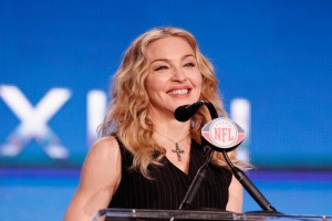 Madonna at the Super Bowl press conference - 2 February 2012 - Update 02 (7)
