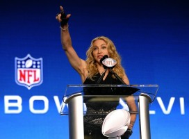 Madonna at the Super Bowl press conference - 2 February 2012 - Update 02 (19)