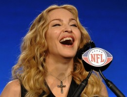 Madonna at the Super Bowl press conference - 2 February 2012 - Update 02 (20)