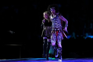 Madonna at the Super Bowl Halftime Show - 5 February 2012 (1)