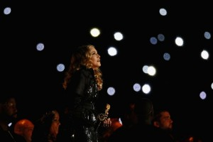 Madonna at the Super Bowl Halftime Show - 5 February 2012 (2)