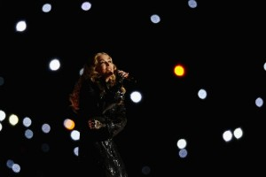 Madonna at the Super Bowl Halftime Show - 5 February 2012 (3)