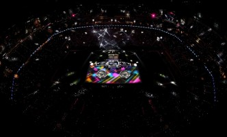 Madonna at the Super Bowl Halftime Show - 5 February 2012 (4)