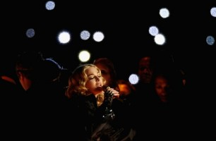 Madonna at the Super Bowl Halftime Show - 5 February 2012 (5)