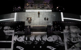 Madonna at the Super Bowl Halftime Show - 5 February 2012 (6)