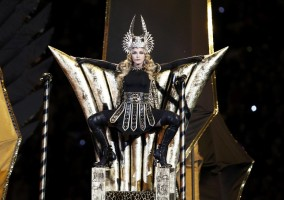 Madonna at the Super Bowl Halftime Show - 5 February 2012 (8)