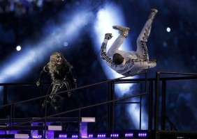 Madonna at the Super Bowl Halftime Show - 5 February 2012 (9)